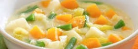 Basic light vegetable broth to your diet