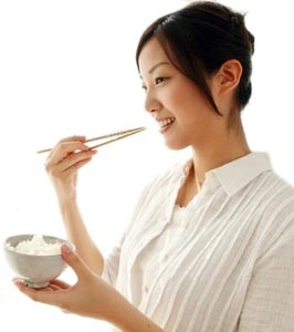 How to lose weight with chopsticks